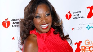 "Star Jones ""Goes Red"" for American Heart Association"