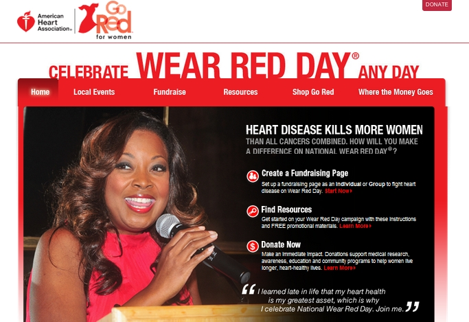 Wear Red Day Campaign